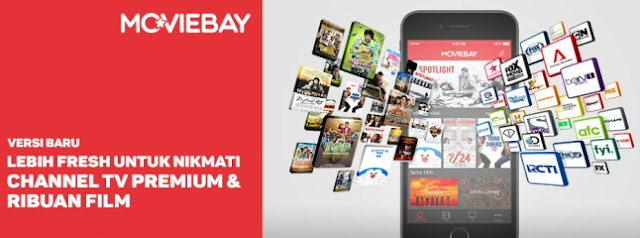 Moviebay - Aplikasi Streaming TV Online