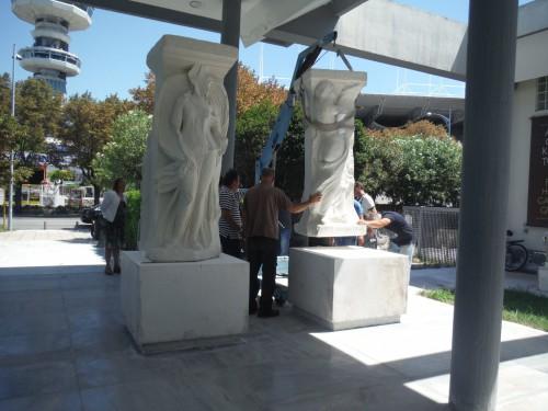 Στο Αρχαιολογικό Μουσείο Θεσσαλονίκης τα αντίγραφα των Μαγεμένων