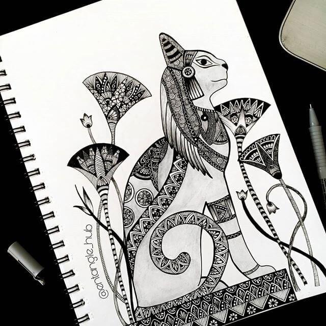 04-Egyptian-Cat-Entangle-Hub-www-designstack-co