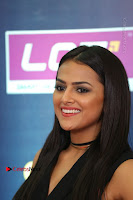 Actress Shraddha Srinath Stills in Black Short Dress at SIIMA Short Film Awards 2017 .COM 0072.JPG