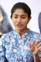 Sai Pallavi looks super cute in plain dress at her interview in Telugu about movie Fidaa ~ Exclusive Celebrities Galleries 037.JPG