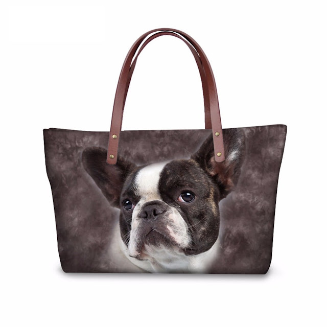 Women's Trendy Pug Shoulder Bag