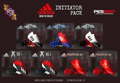 PES 2017 Adidas Initiator Pack by AK-RF Mods