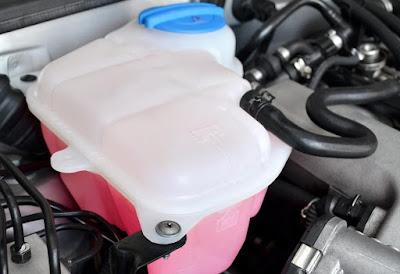 coolant reservoir tank