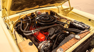 1968 Dodge Coronet 500 Sport Coupe Engine 02