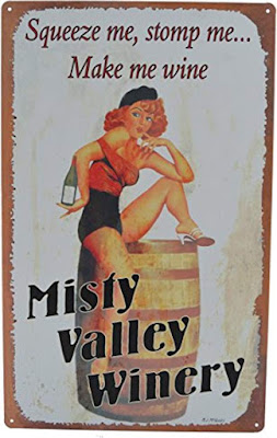 Misty Valley Winery - Squeeze me, Stomp me . . .  Make me wine