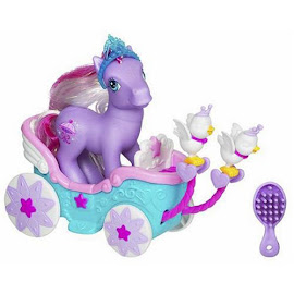 MLP Pretty Parasol Carriage Ponies  G3 Pony