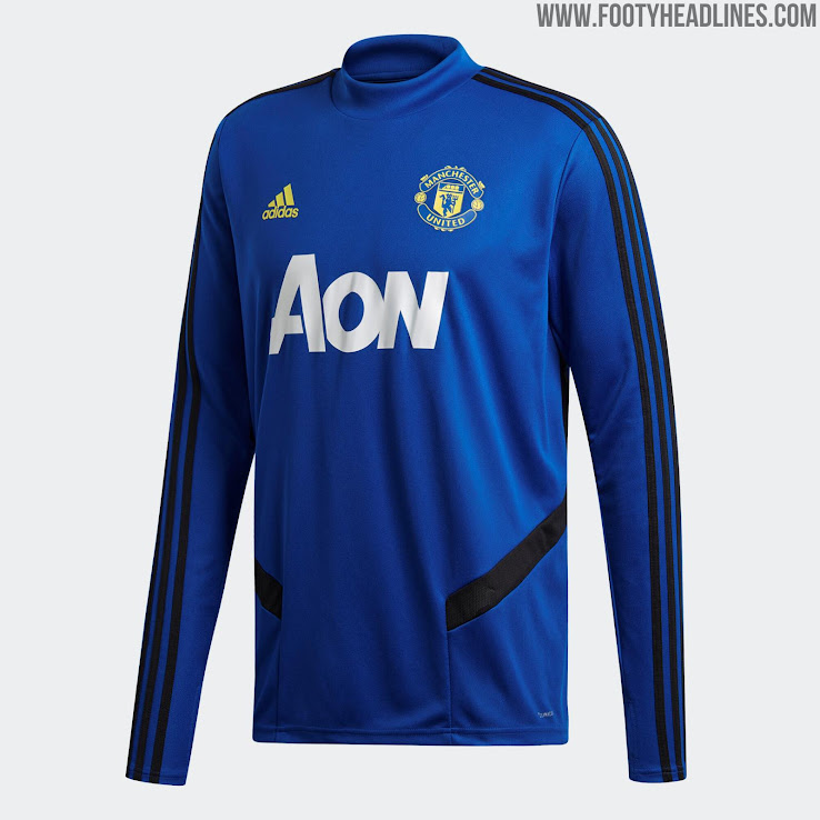 Manchester United 19 20 Training Kit Released Footy Headlines