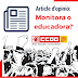 Article d'opinió: Monitora o educadora?