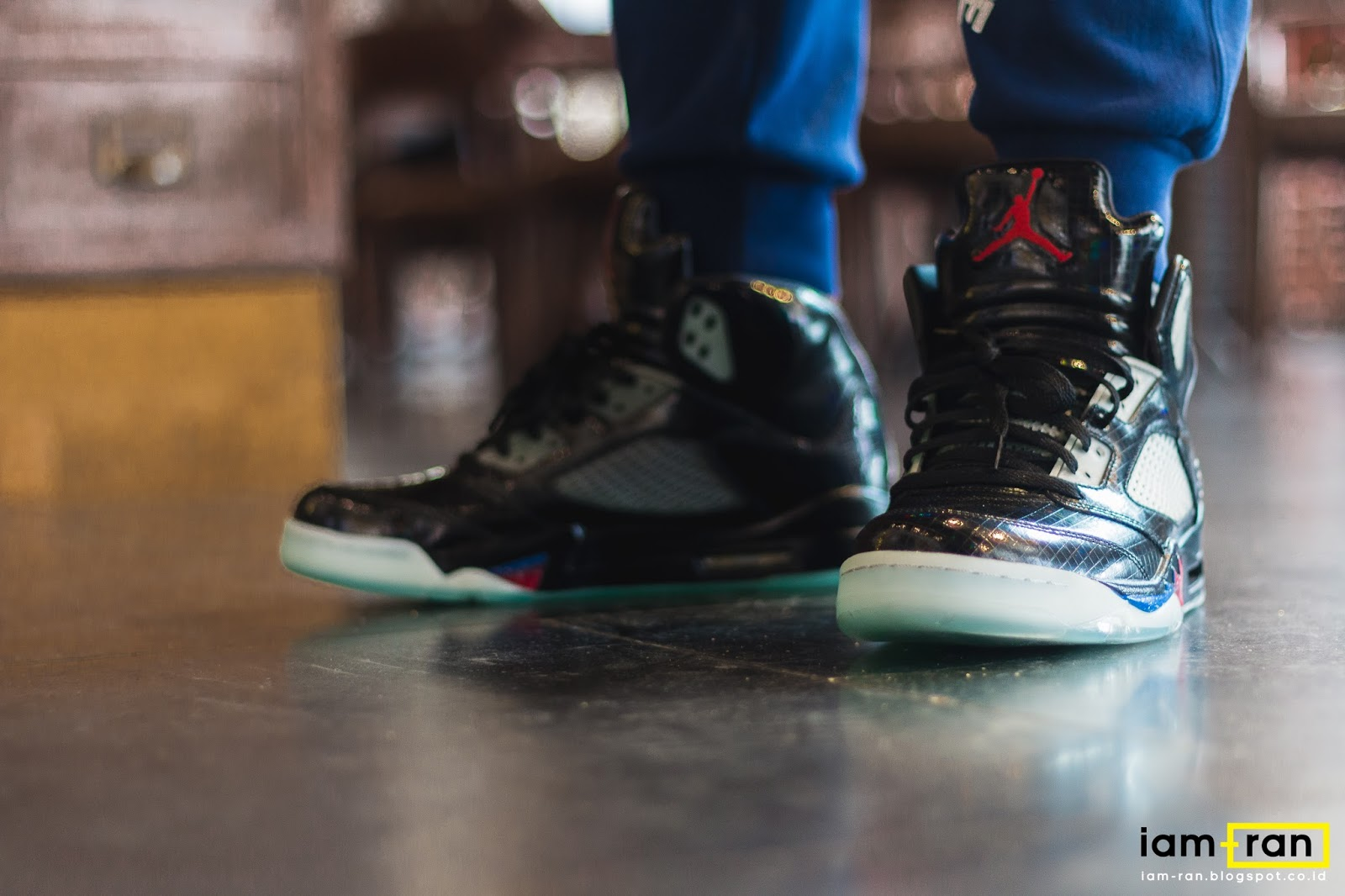 finest selection 3b1b9 d30ef IAM-RAN: ON FEET : Winston - Nike Air Jordan 5 X Mark Wahlberg X ...