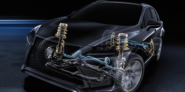 RX200t Performance AdaptiveVariableSuspension %2528972x483%2529 - Đánh giá xe Lexus RX 200t 2018 và giá bán tại Việt Nam