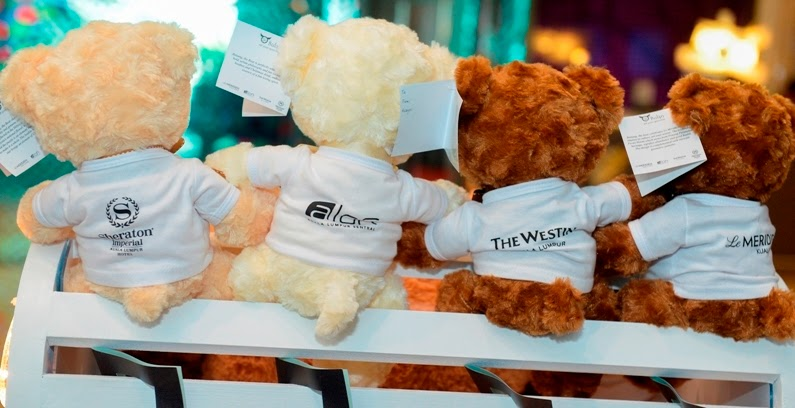 Cuddly Christmas with Bintang the Bear, Cuddly Christmas, Bintang the Bear, Aloft KL, Le Meridien,Sheraton Imperial KL, Westin KL