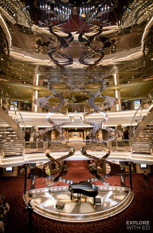 Atrium on MSC Meraviglia
