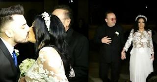 Ο Σταμάτης Γονίδης πάντρεψε την 25χρονη κόpη του και είναι ένας τρισευτυχισμένος πατέρας