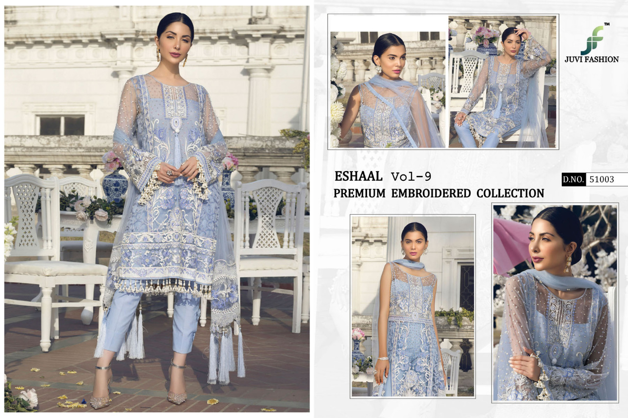 0eb267c146 Juvi fashion Eshaal vol 9 Pakistani salwar kameez - Diwan fashion