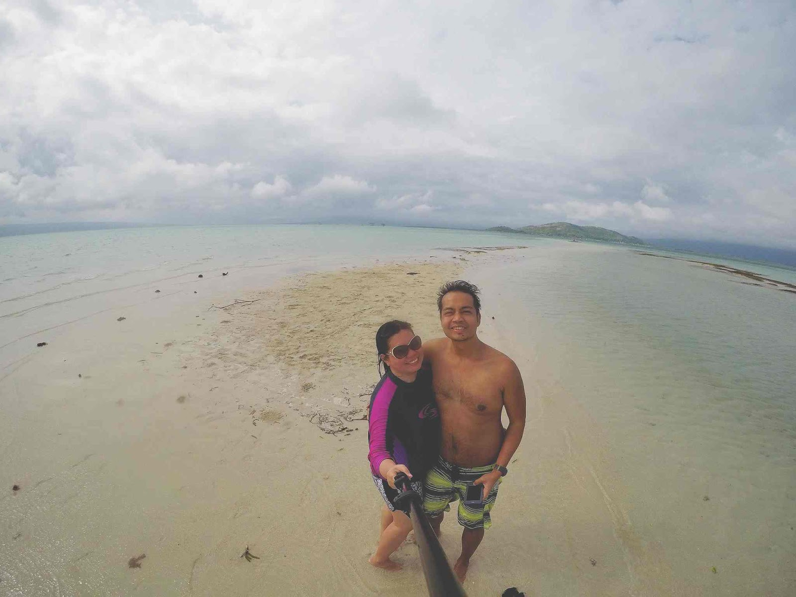 One of our most unforgettable experiences was when we explored the white sands of Manjuyod Sandbar