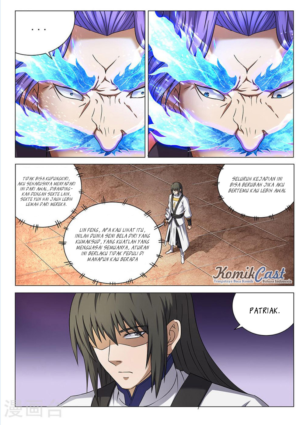 Baca Komik Manga God of Martial Arts Chapter 42.3 Komik Station