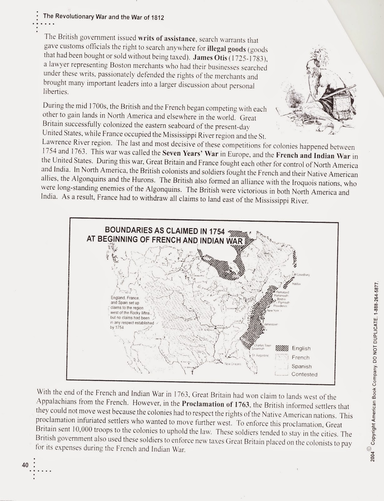 Mr E S World History Page The American Revolution And The War Of Packet