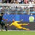 Halftime score: Denmark 1-1 Australia #WorldCup