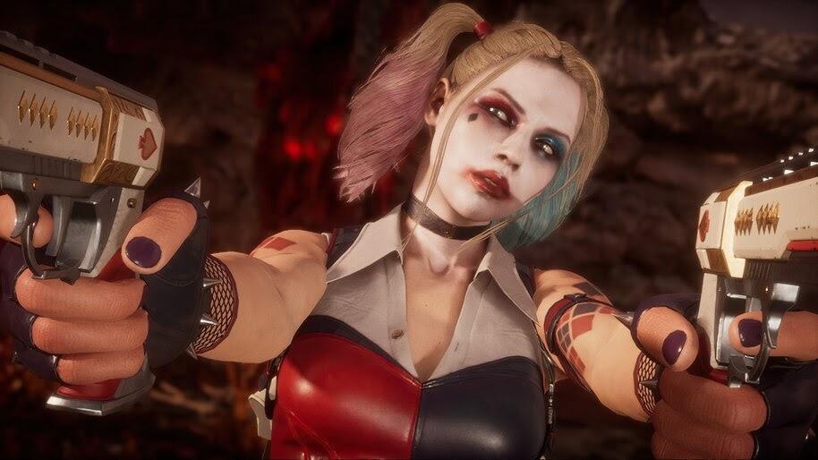 Cassie Cage, Harley Quinn, Mortal Kombat 11, 4K, #7.1311
