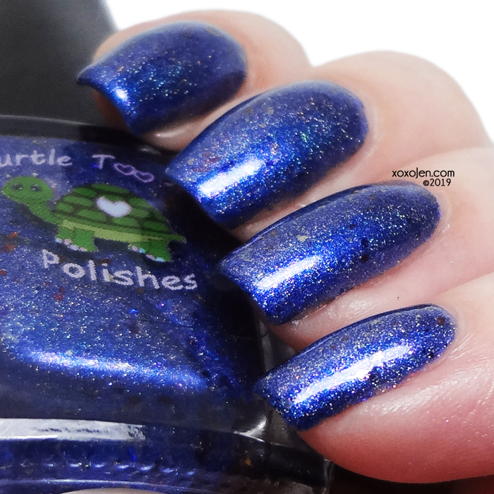 xoxoJen's swatch of Turtle Tootsie Across The Universe