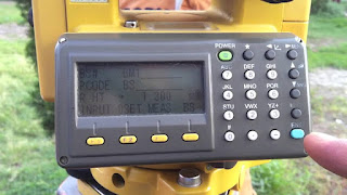 Cara mengubah settingan input koordinat NEZ menjadi ENZ pada total station topcon