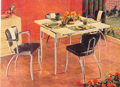 Gold country girls Daystrom Dinette