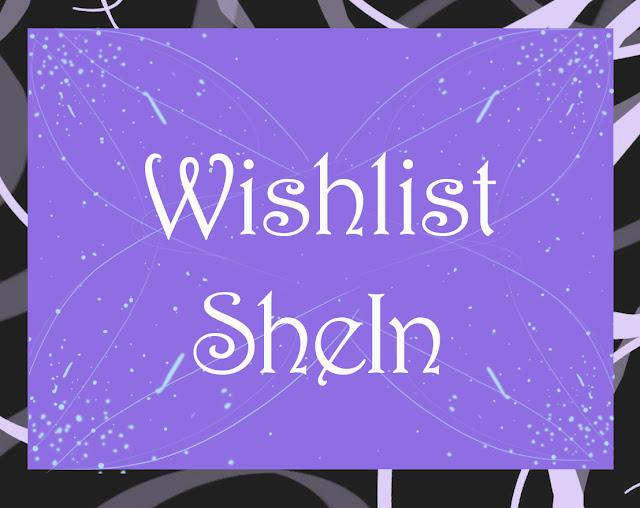 Lista de desejos da Shein