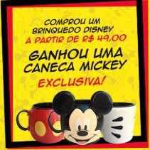 Promoção Americanas Dia das Crianças 2018 Compre Ganhe Caneca Disney