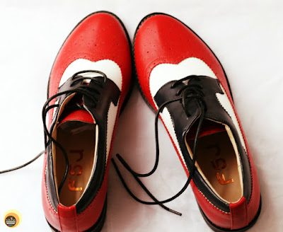 Review of FSJ SHOES WOMEN'S OXFORD LACE-UP FLAT VINTAGE BROGUES ON NBAM BLOG