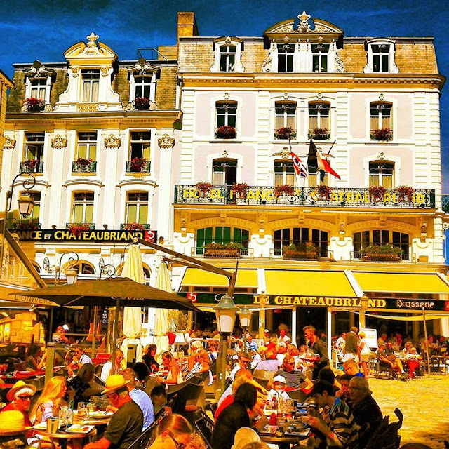 My Summer Vocations in Saint Malo - Brittany I France I Travelling Hopper - 2016 I
