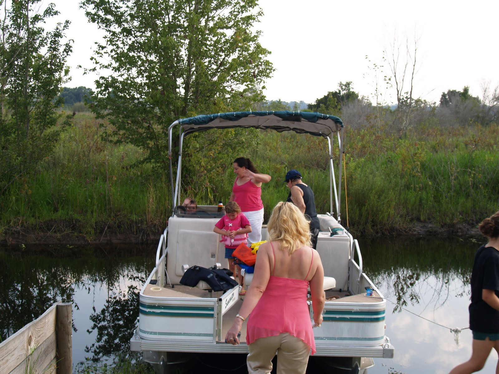 medium resolution of when we bought our home in 2005 we inherited a 1996 monark suncaster pontoon boat that made the boat roughly 10 years old and every component on it was