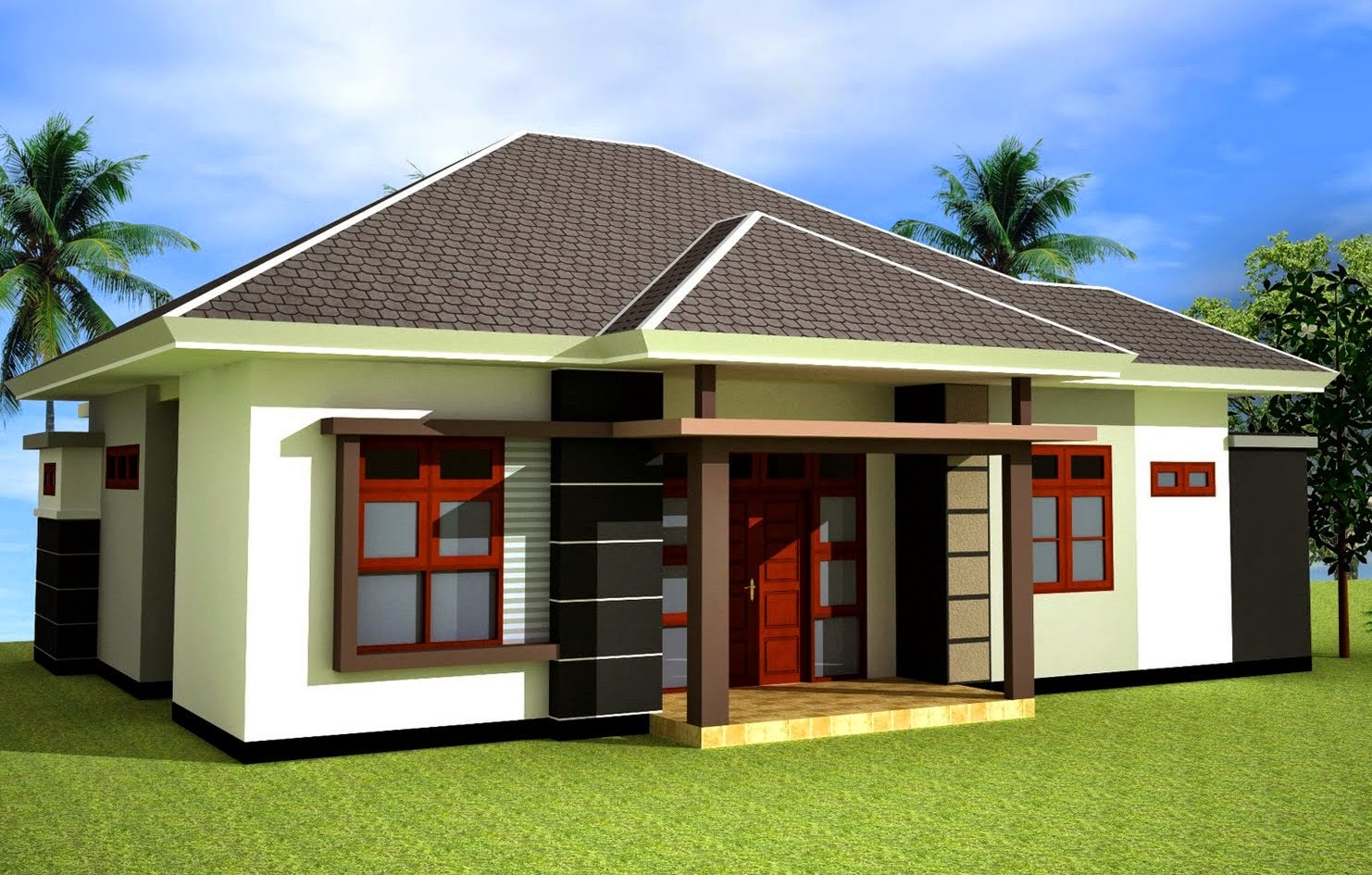 Gambar model atap rumah limas mewah type 360 terbaru ...