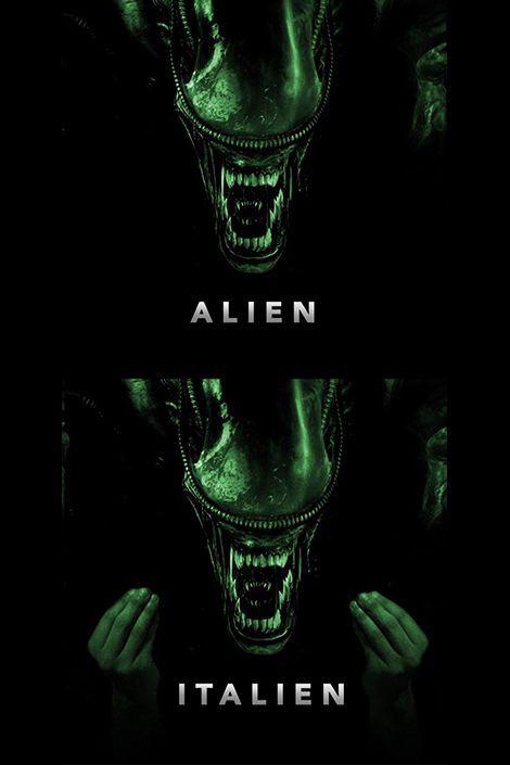 Alien vs Italien