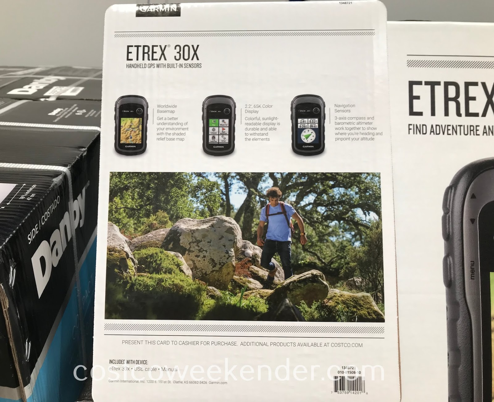 Costco 1348721 - Garmin eTrex 30x Handheld GPS: great for any backpacker or adventurer