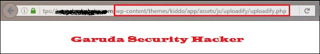 Deface WordPress Theme Kiddo Uploadify