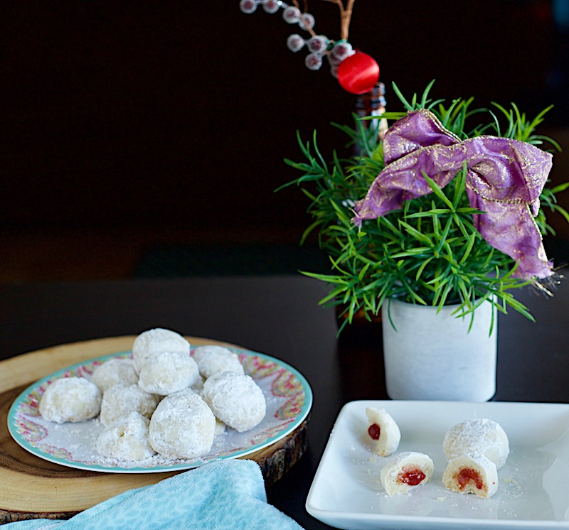 Blessings From My Kitchen Surprise Snowball Cookies