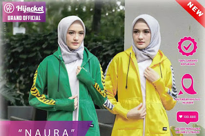 Jaket Wanita Terbaru | Belanja Online Hijacket Naura M fit L Green Yellow Purple Navy HJ-NR HIJACKET® NAURA