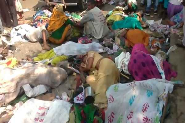 24 killed, over 60 injured in Varanasi stampede