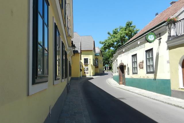Dzielnica Grinzing w Wiedniu