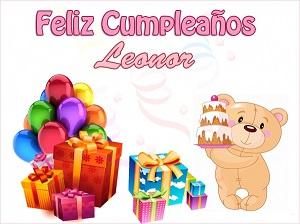 Feliz cumpleaños Leonor