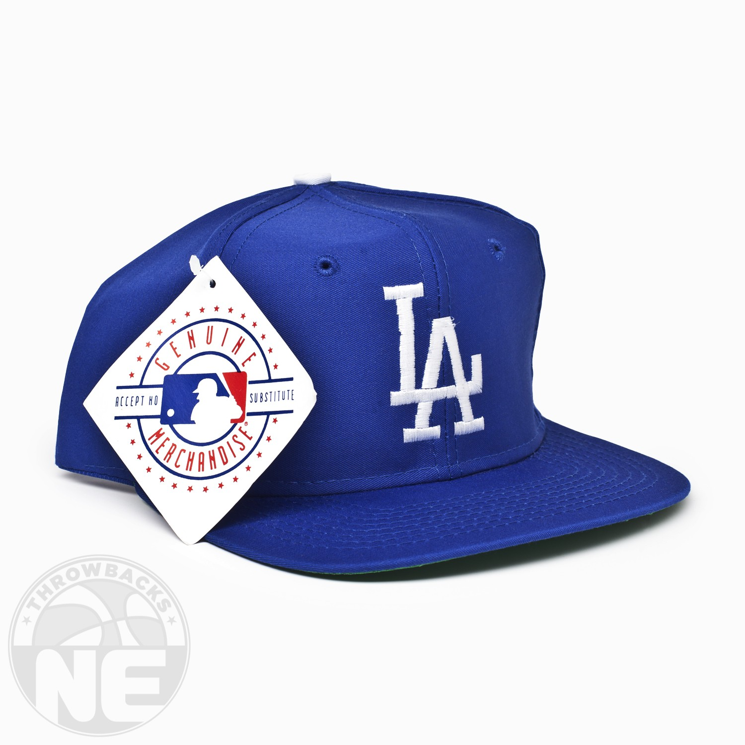 46dd7bf8578ad Vintage Los Angeles Dodgers Snapback By Signature