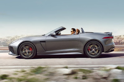 Jaguar F-Type Accelerations