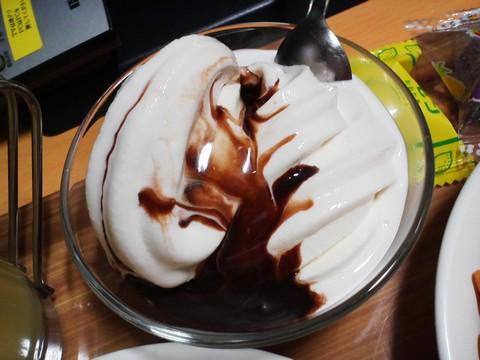 お菓子1-4ソフトクリーム もんきーねっとアキバ店2回目