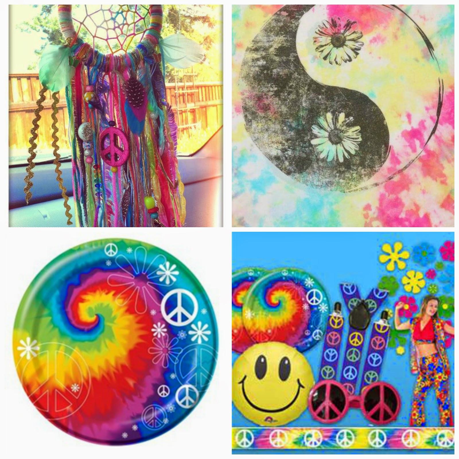 Positiva Creativa Como Decorar Una Fiesta Hippie - Decoracion-hippie-fiesta