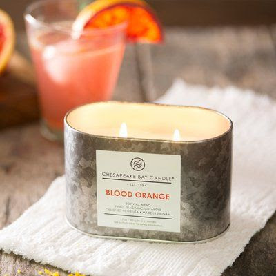 Chesapeake Bay Candle Blood Orange Double Wick Tin