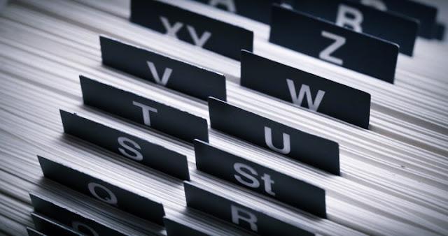الفهرسة-Indexing