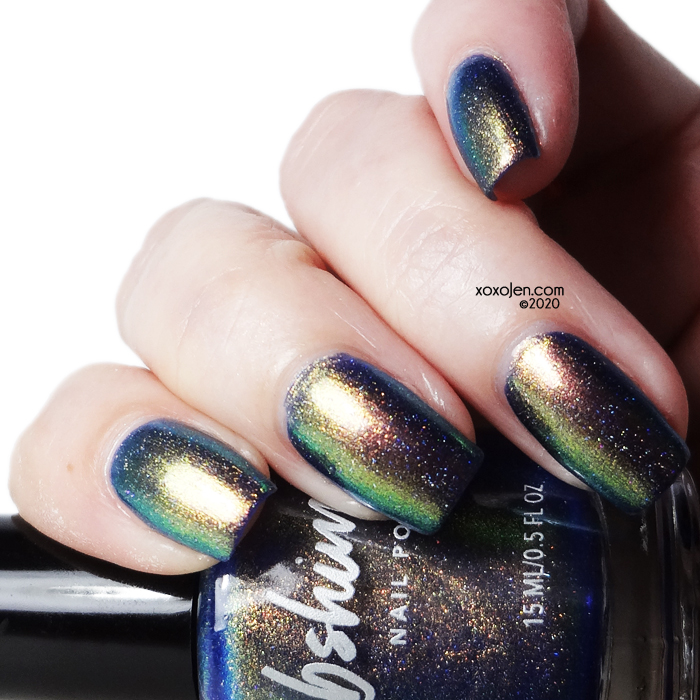 xoxoJen's swatch of KBShimmer Seems Fishy