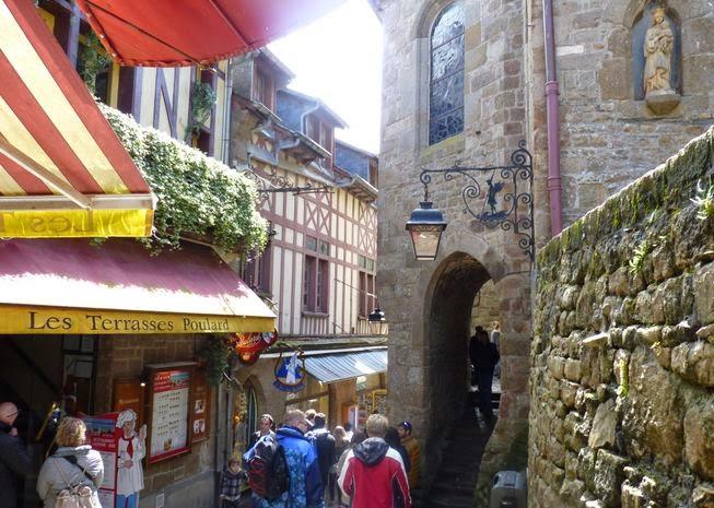 El Mont Saint Michel.
