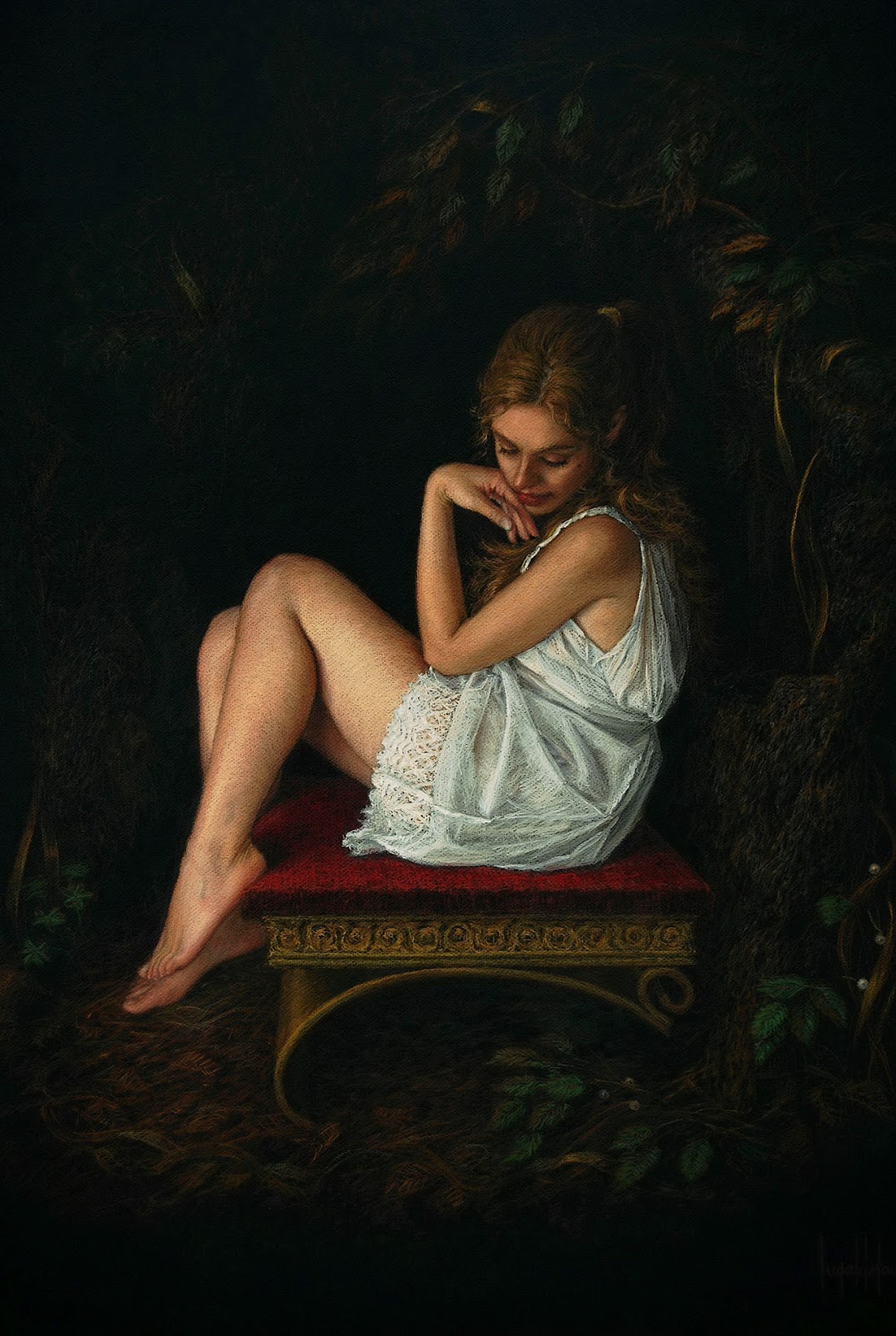"Figurative and Portrait Paintings by Spanish Artist ""Ángel de Cáceres García"""